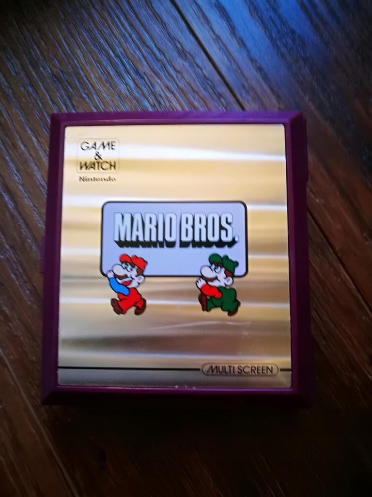 Mario Bros game and watch Nintendo Gra reczna