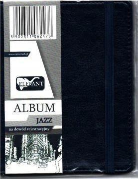 Album na dowód rejestracyjny Jazz granat ELEFANT