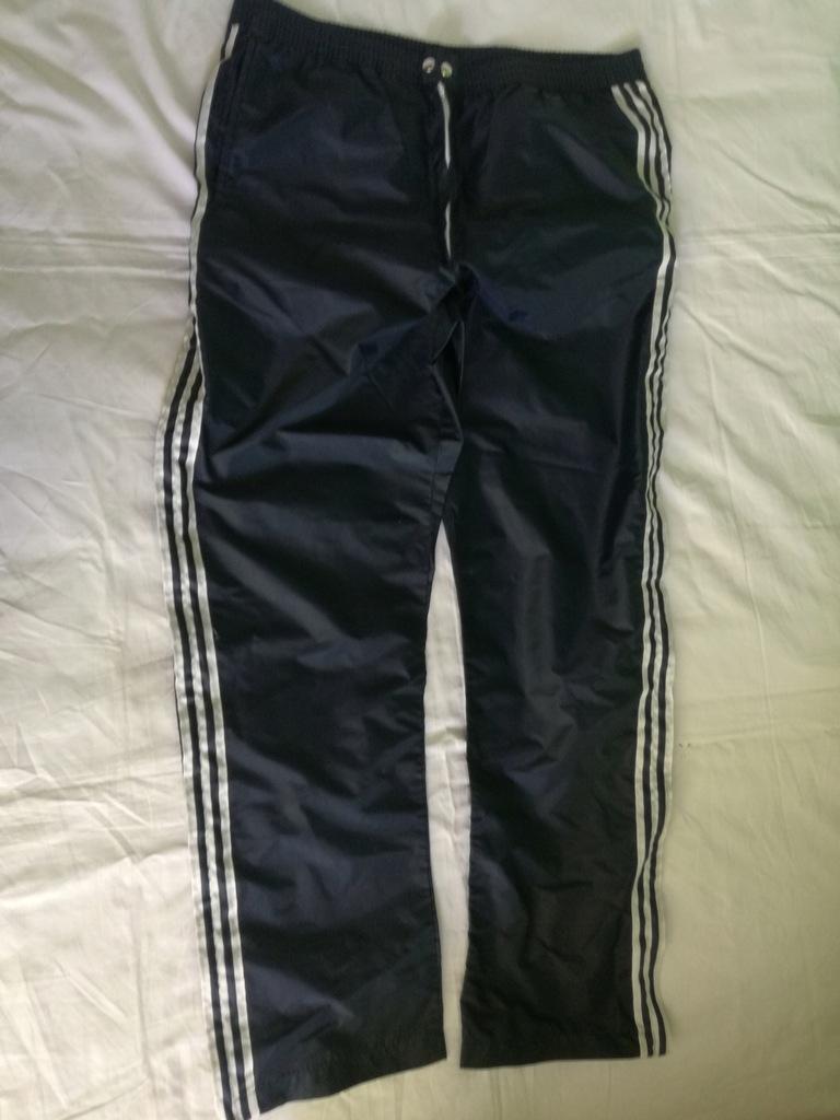 Adidas ventex spodnie dresowe retro roz 11 bdb