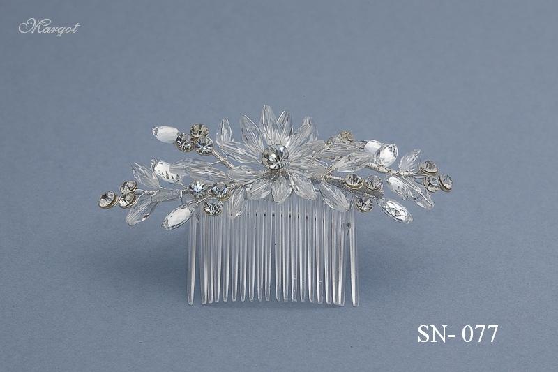 Stroik ślubny SN077 - fryzury ślubnej, głowę