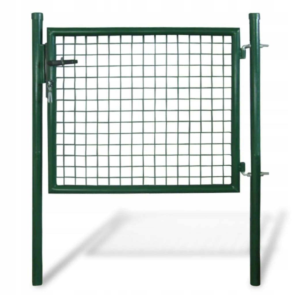 Bramka furtka ogrodowa 85,5 x 75 cm / 100 x 125 cm
