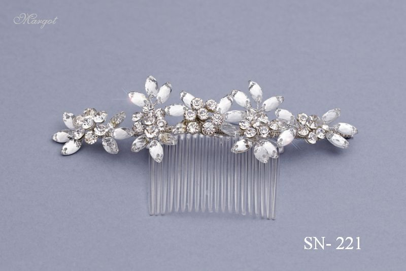 Stroik ślubny SN221 - fryzury ślubnej, głowę