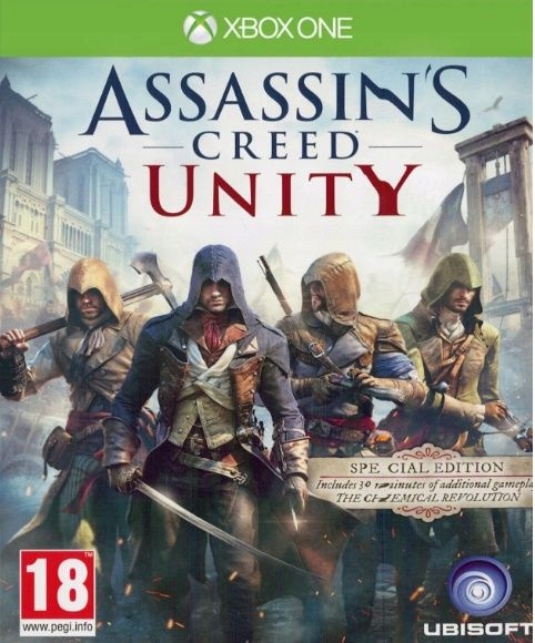 ASSASSIN'S CREED UNITY XBOX ONE PL