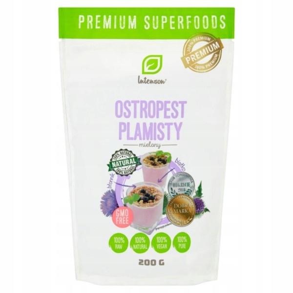 Intenson Ostropest Plamisty mielony 200 g