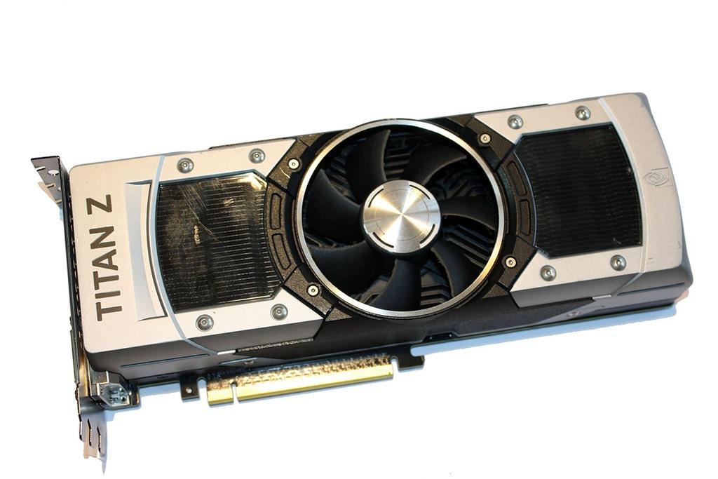 Nvidia Geforce Gtx Titan Z 12gb Karta Graficzna 7366653715 Oficjalne Archiwum Allegro