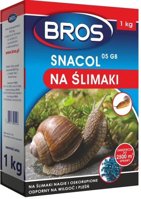 Bros Snacol 200g Srodek Na Slimaki Turkucie Turkuc 6616512186 Oficjalne Archiwum Allegro