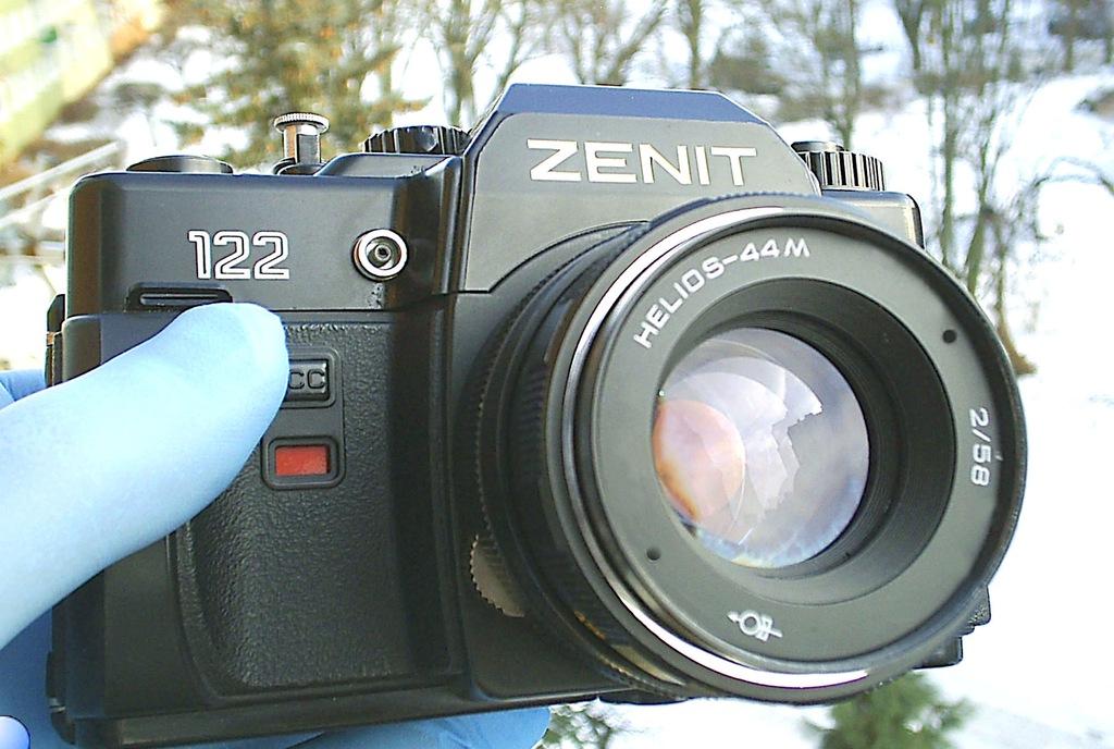 Zenit 122 Helios 44M 58mm Olympus C-730 od 1zł