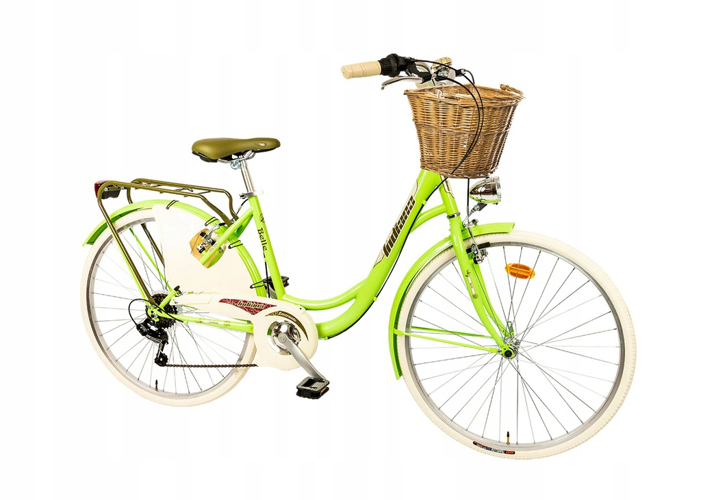 DAMSKI Rower MIEJSKI INDIANA Belle 26 6biegów KOSZ