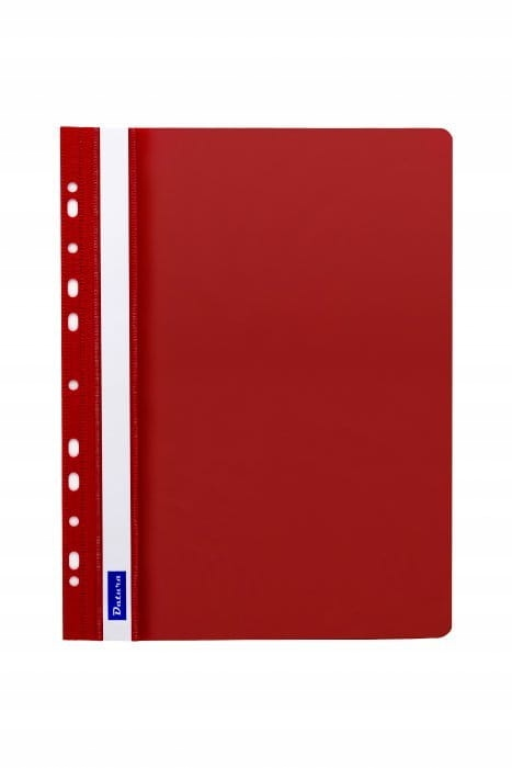 Skoroszyt zawieszany czerwony A4 twardy 1 sztuka