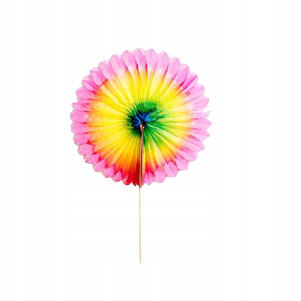 20 sztuk Sun Flower Fruit Cupcake Deser Dekoracja