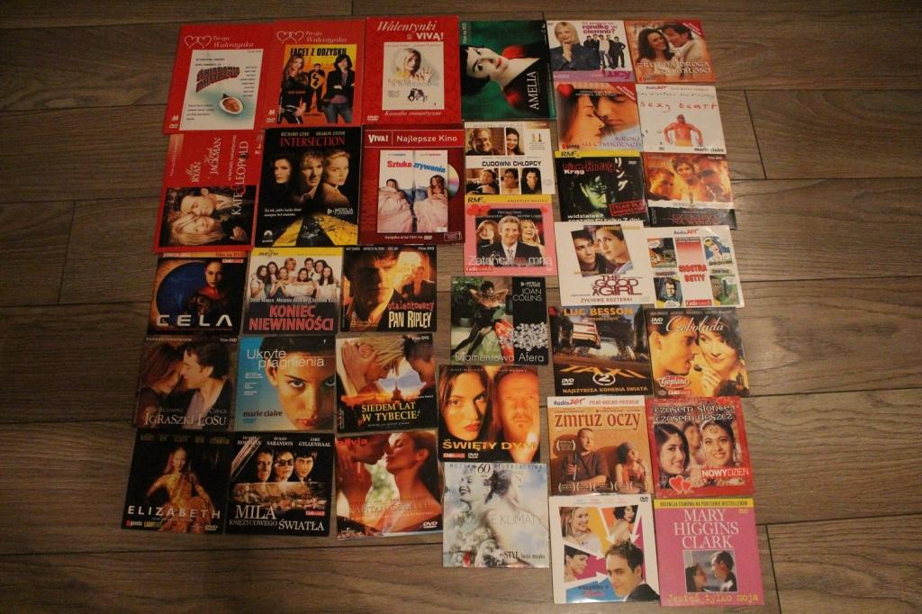Płyty DVD, filmy, kolekcja 35 sztuk, perełki