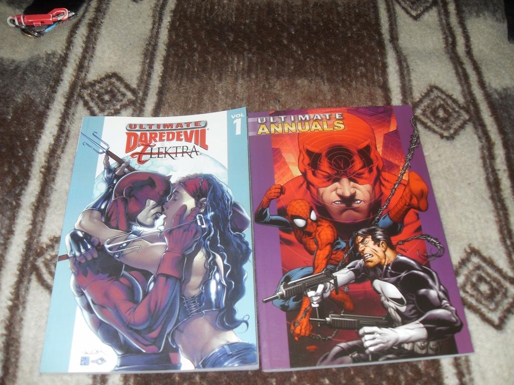 Ultimate Annuals/ Daredevil i Elektra plus gratis