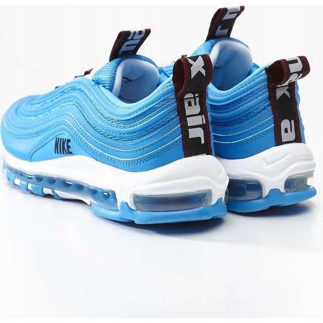 Nike Air Max 97 Premium 401 Blue Hero White Black niebieskie