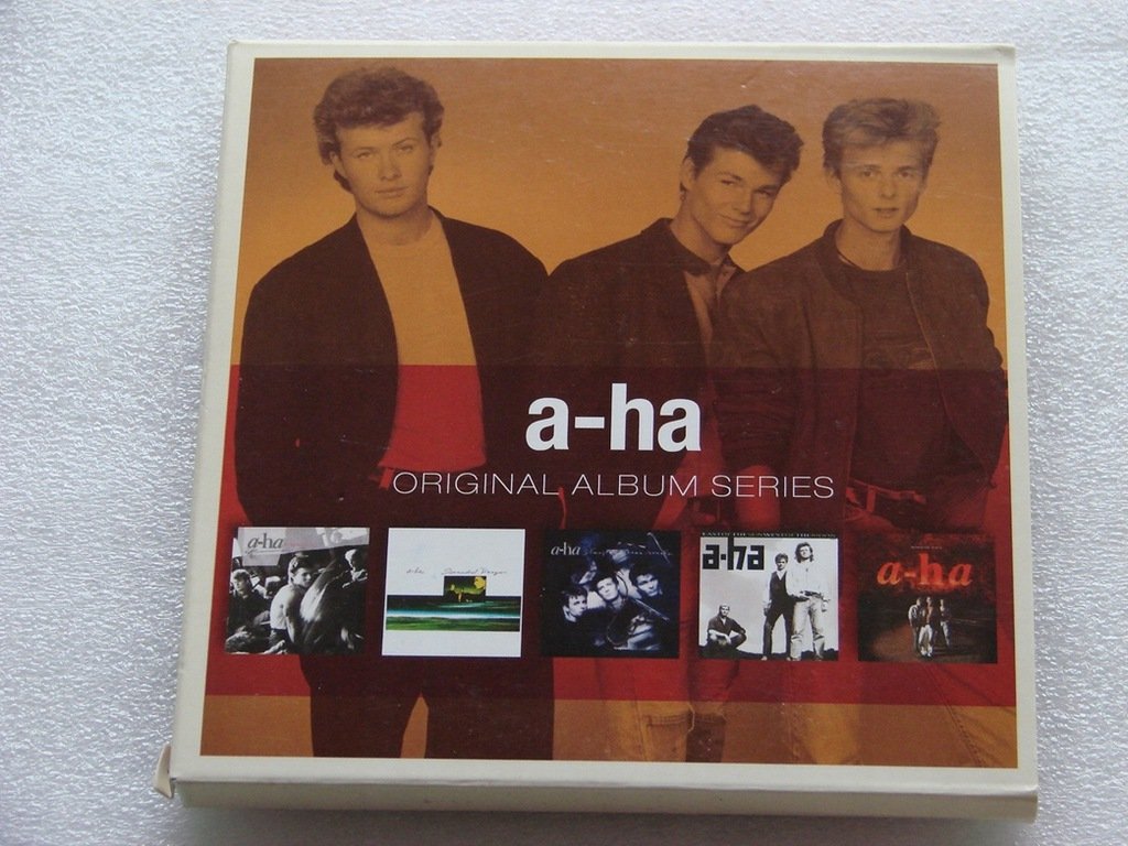 A-ha - Original Album Series 5xCD Jak Nowe