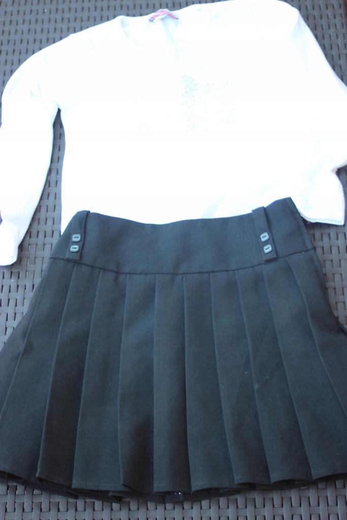 FF spódniczka + bluzeczka roz. 122