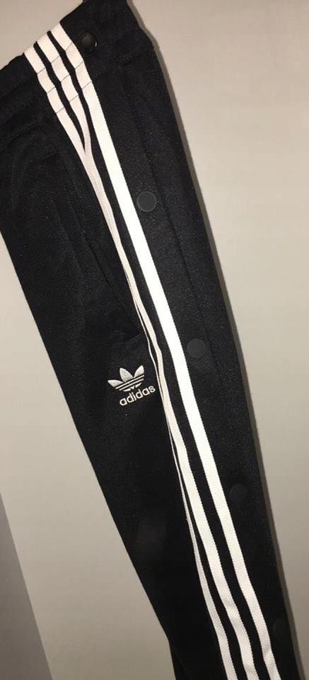 ADIDAS ORIGINALS spodnie dresowe czarne napy %%