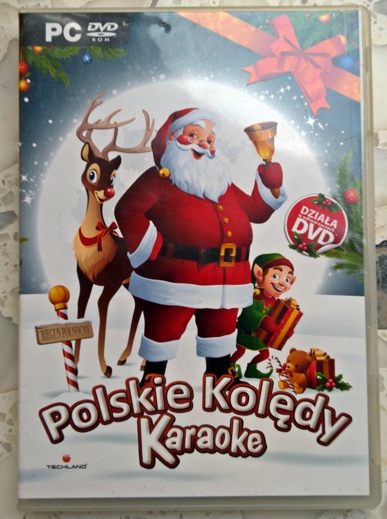 MUZYKA na DVD KARAOKE POLSKIE KOLĘDY PC