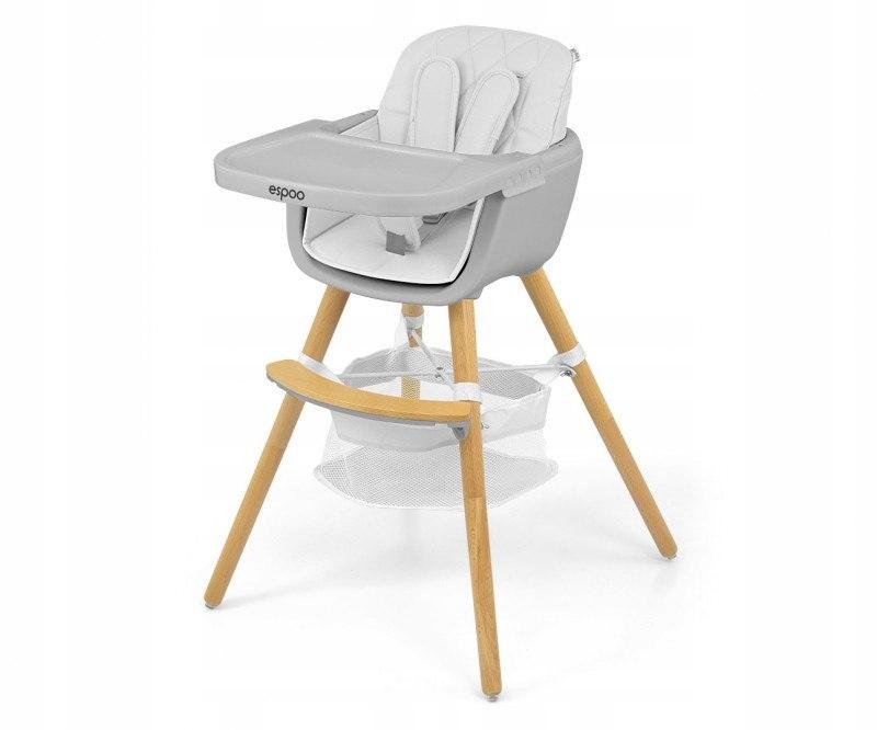 Krzesełko do karmienia 2w1 Espoo White