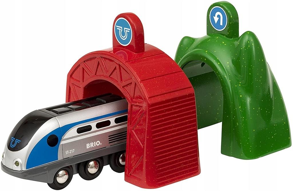 Brio 33834 Smart Tech Lokomotywa z tunelami