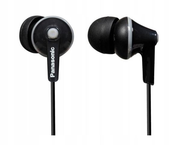 Słuchawki dokanałowe Panasonic RP-HJE125E P1 B1