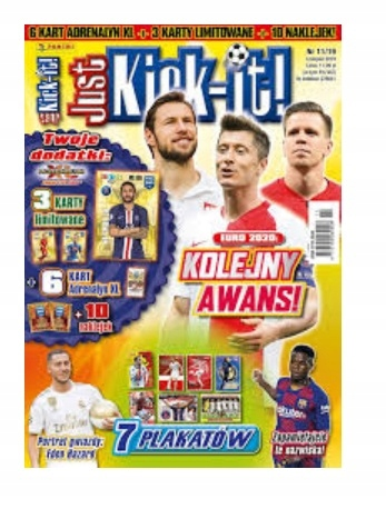 JUST KICK IT 11/2019 KARTY FIFA 365 Adrenalyn 2020