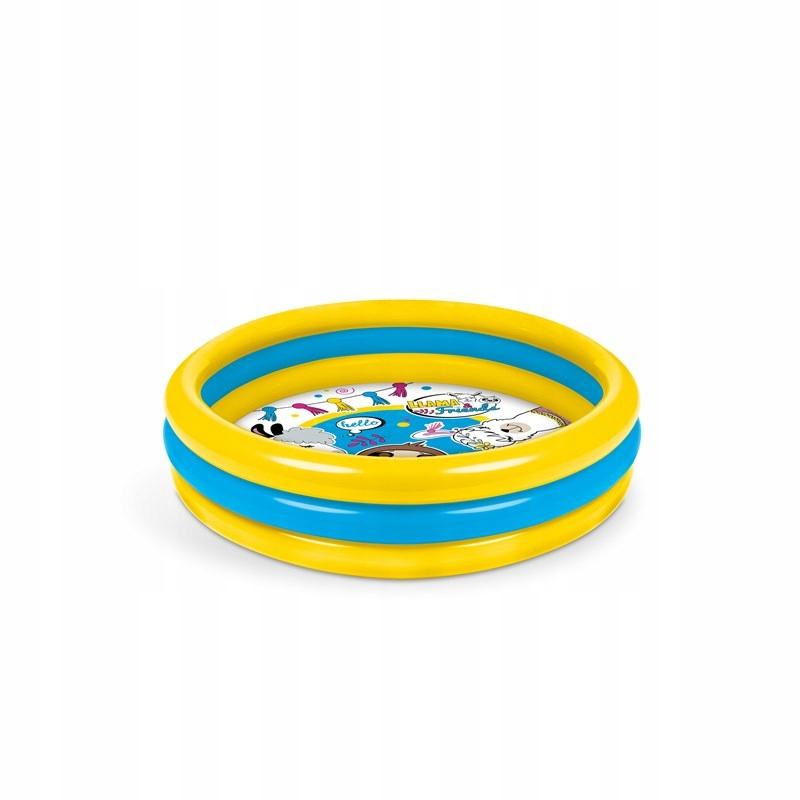 Mondo - Basen dmuchany 3 - pierścienie - Lama i pr