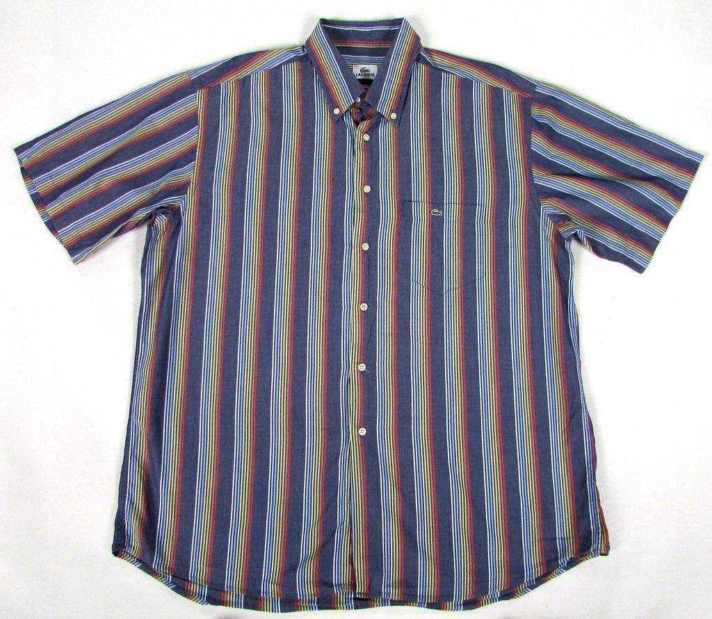 ** LACOSTE **__XL__Modna, super koszula w paski