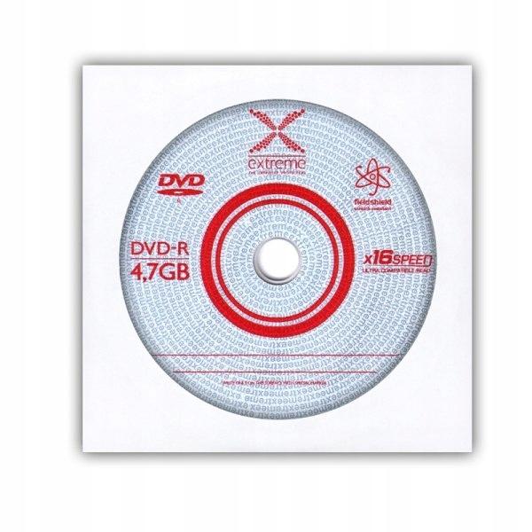 1169 DVD-R 4,7GB X16 - koperta 1 sztuka Extreme