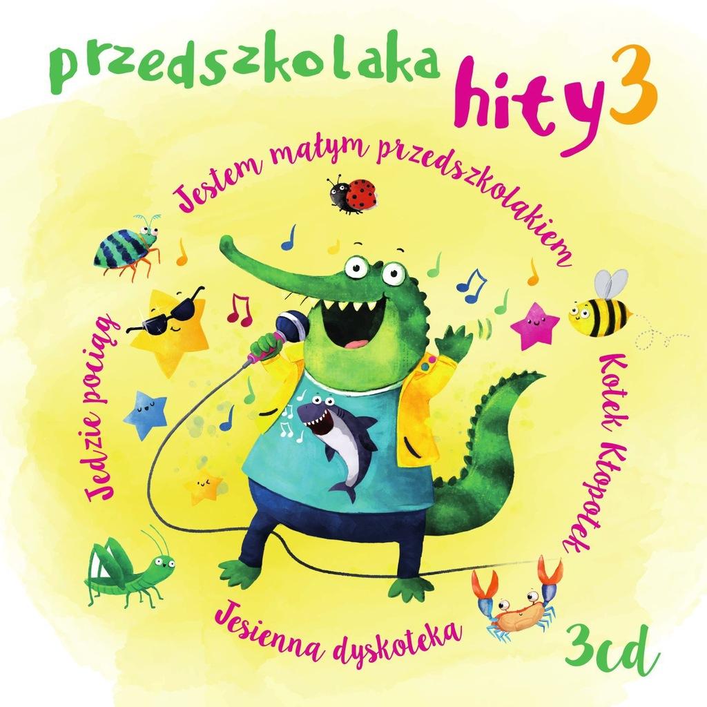 Przedszkolaka hity 3CD część 3