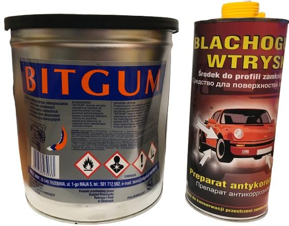 konserwacja podwozie BITGUM 5L + profile 1,5l Blac