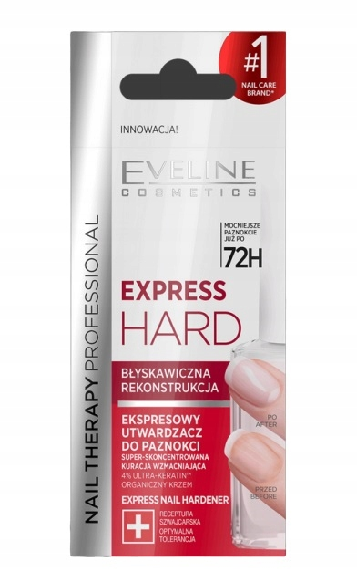 EVELINE EXPRESS HARD UTWARDZACZ DO PAZNOKCI 12ML