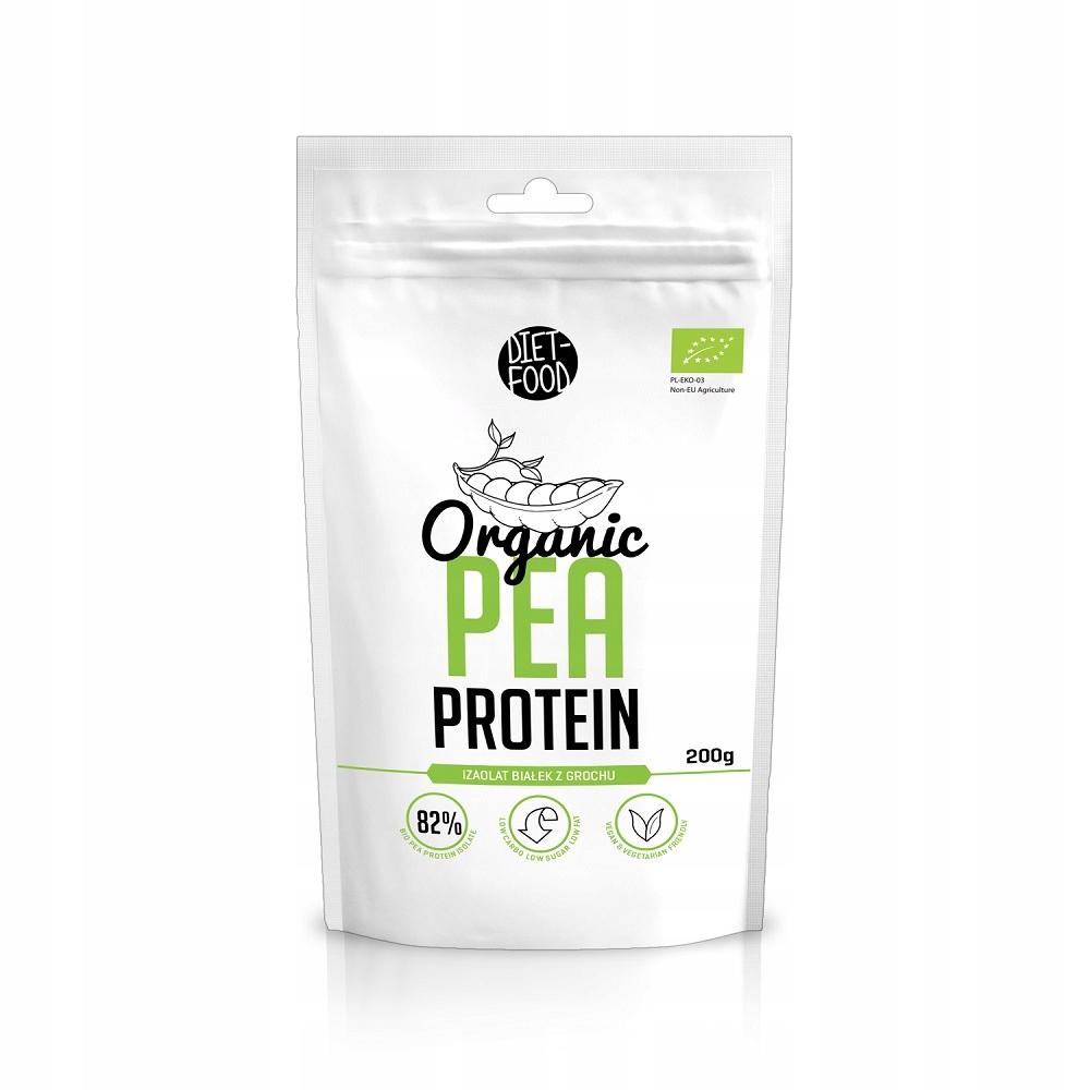 Diet-Food izolat białek z grochu Organic Pea Prote
