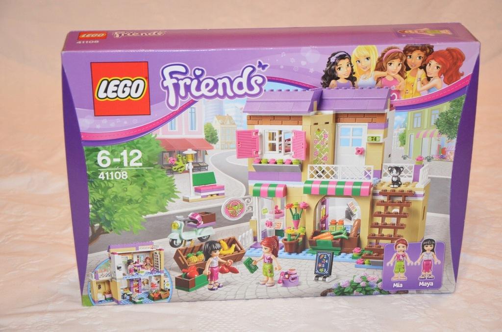 LEGO Friends 41108 Targ warzywny NA WALENTYNKI
