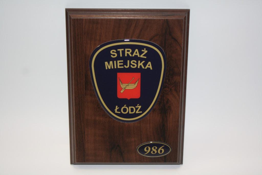 WOŚP - Straż Miejska w Łodzi - Ryngraf