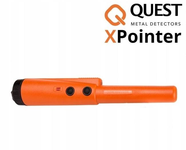 Wykrywacz metali Quest XPointer Land - pomarańcz