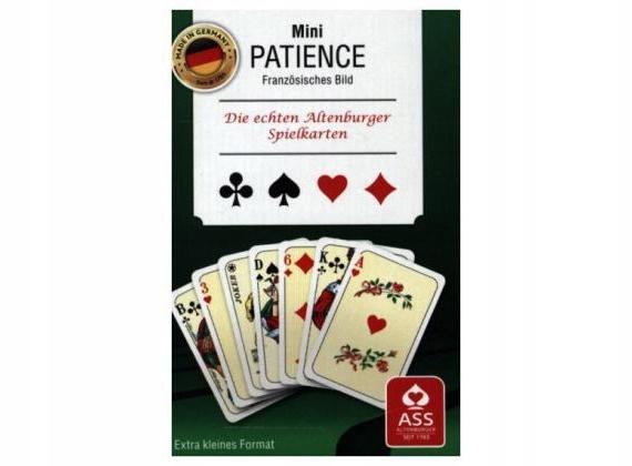 Mini patience ASS małe karty do gry
