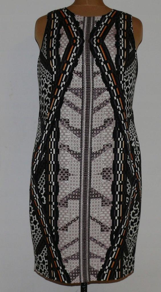 NEXT nowa sukienka boho piene wzory 16/44