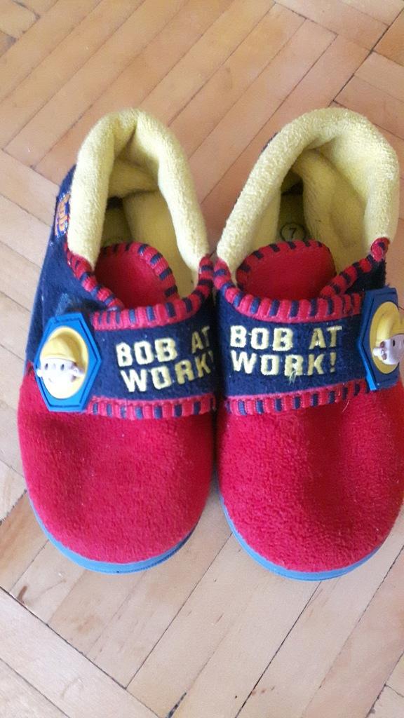 Pantofle Bob budowniczy roz. 24