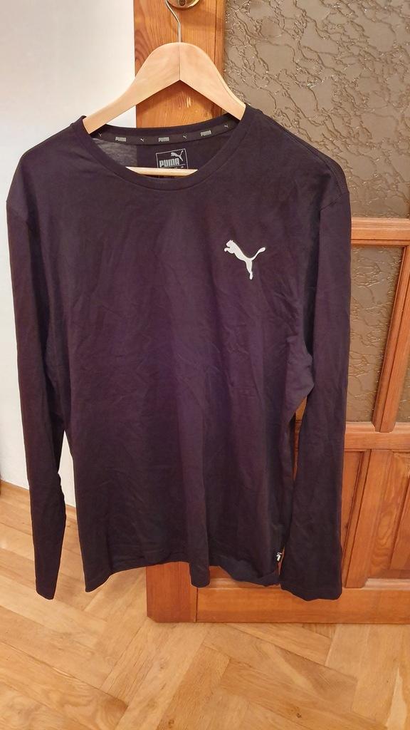 Męska koszulka z długim rękawem PUMA czarna XL