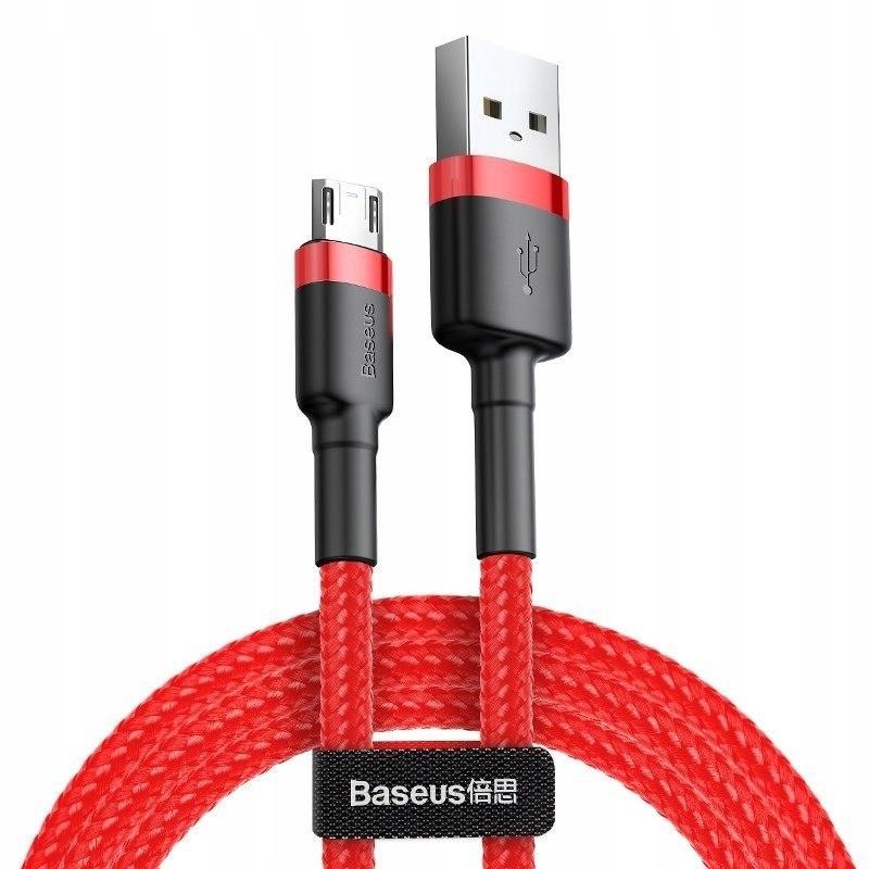 Kabel Micro USB Baseus Cafule 1.5A 2m (czerwony) B