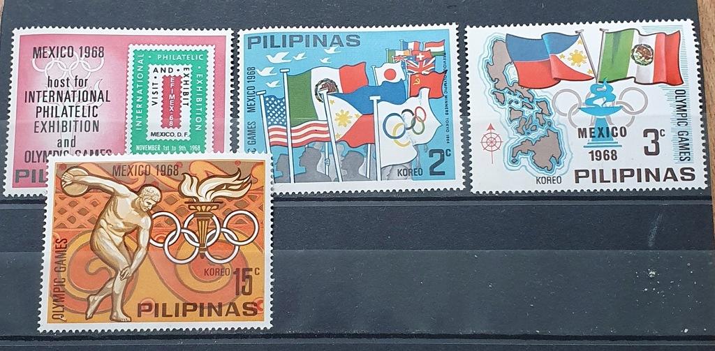 FILIPINY ** 1968 MI XVI-XIX