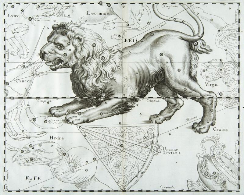 LAMUS Starodruk.Atlas gwiazd Heweliusza.Gdańsk1690