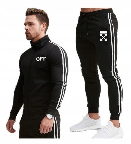 Komplet Dresowy UNIKAT OFF Bluza + Spodnie