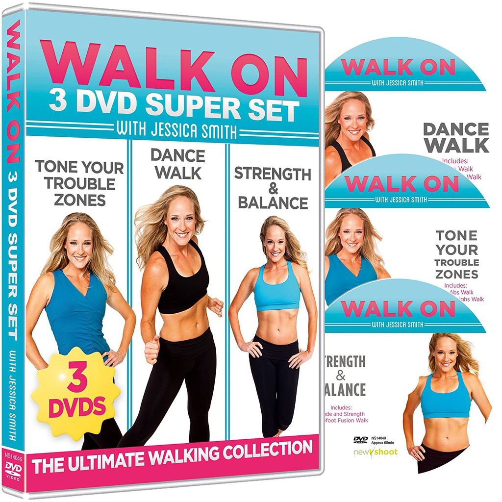 Jessica Smith - WALK ON - 3 DVD Super Set
