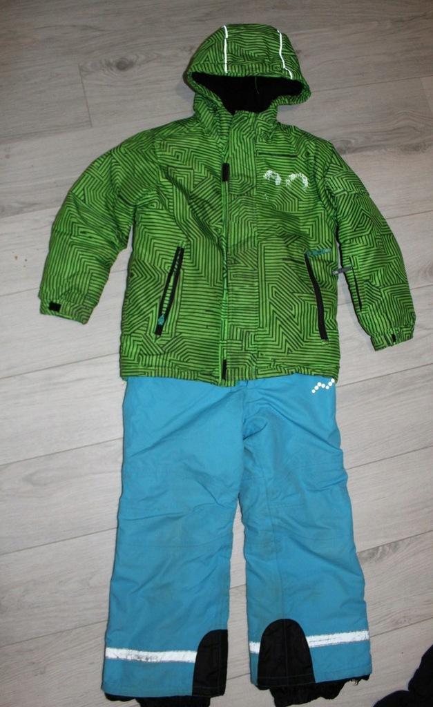 ALPINE - komplet narciarski spodnie kurtka - 128