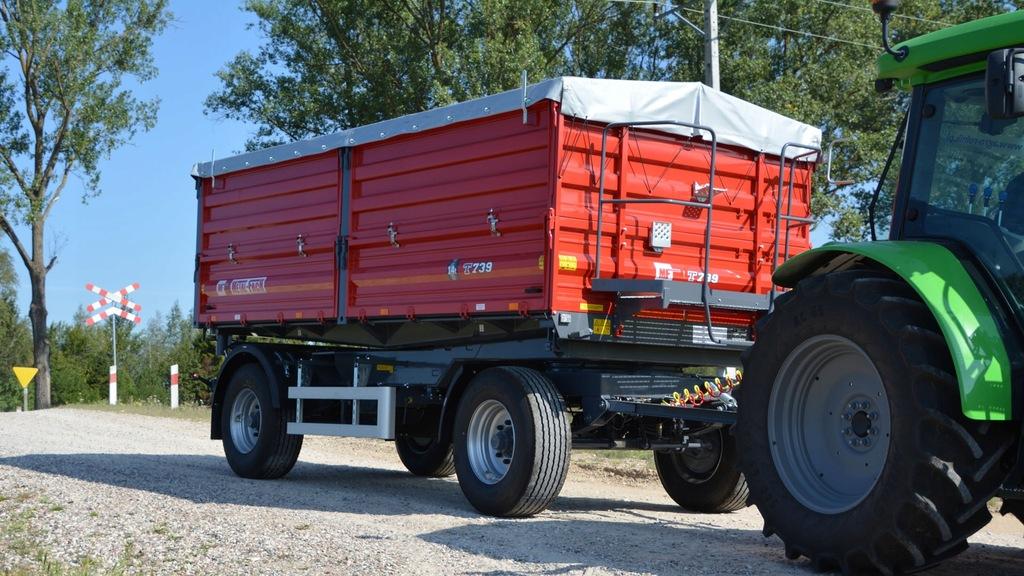 Przyczepa Rolnicza Komunalna T739 Metal-Fach