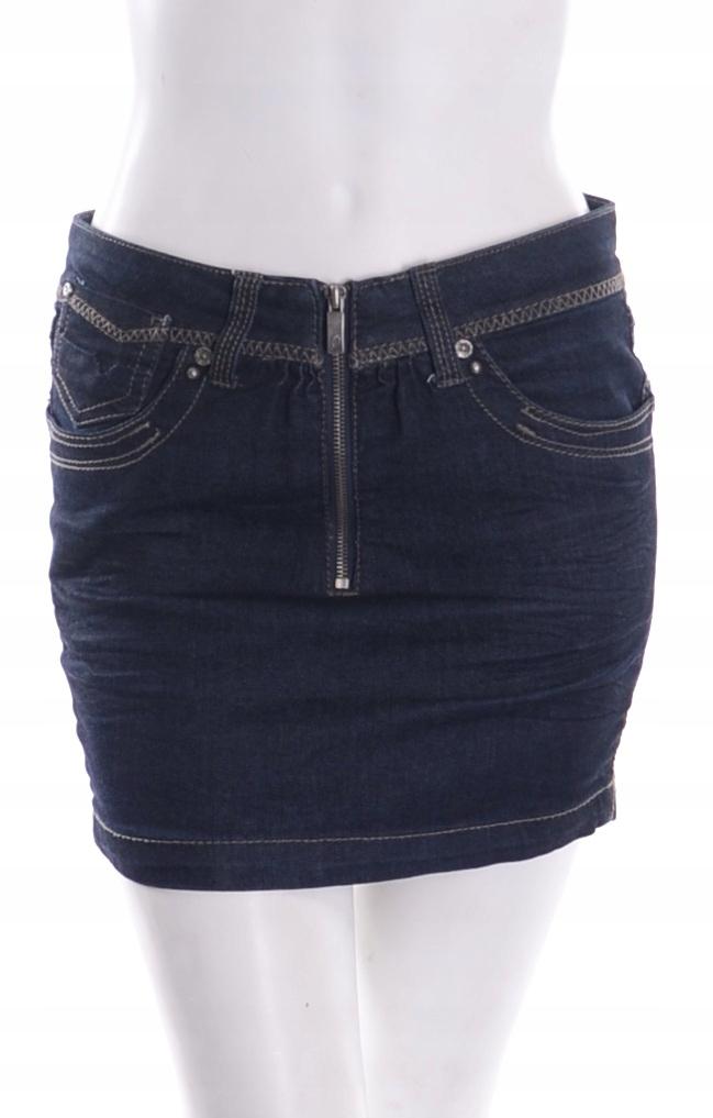 spódnica spódniczka dżinsowa zara tumblr vintage
