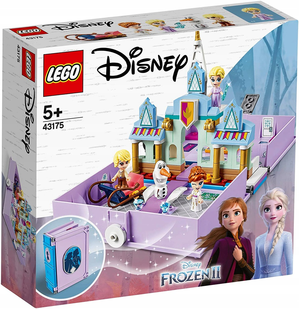 Lego Disney 43175 Ksiazka Elzy Frozen Kraina Lodu 9788854008 Oficjalne Archiwum Allegro