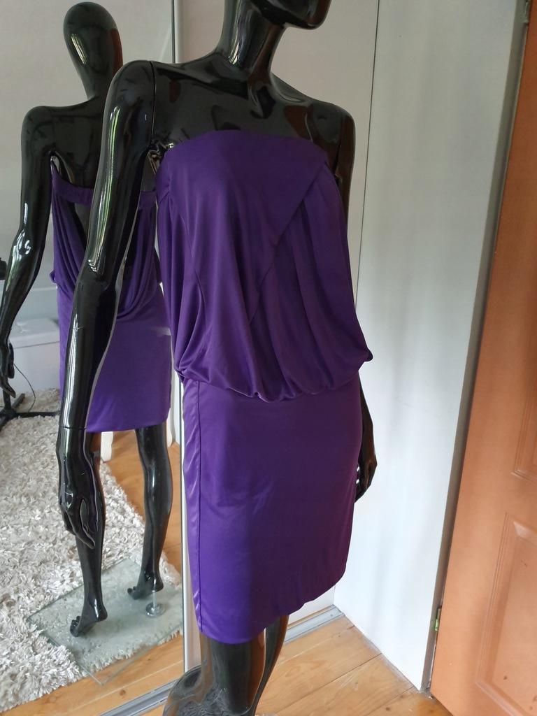 Pinko spódnica fioletowy M