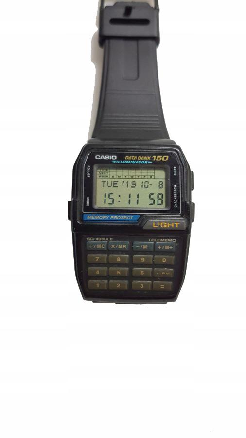 Zegarek Casio Data Bank 150